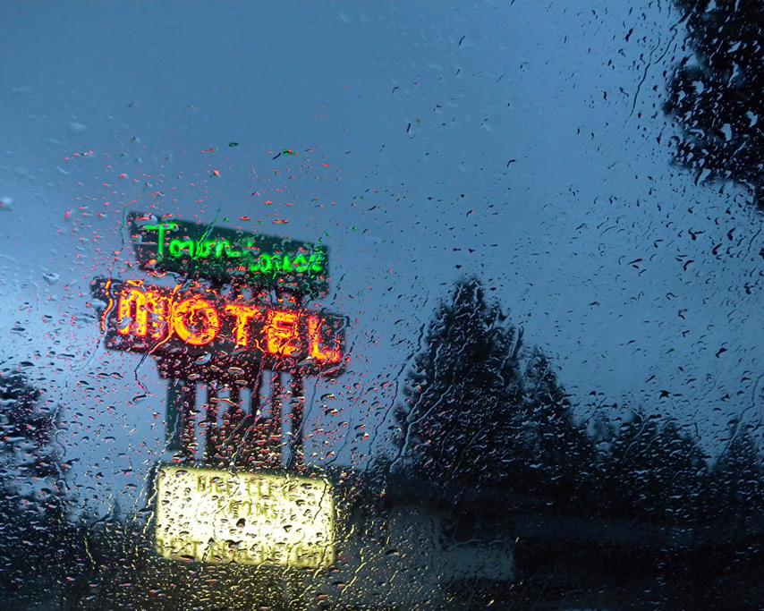 Rain, Weed, CA, Andrew D. Barron©7/18/11