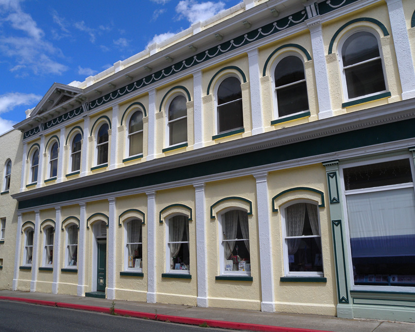 Downtown, Yreka, CA, Andrew D. Barron©7/18/11