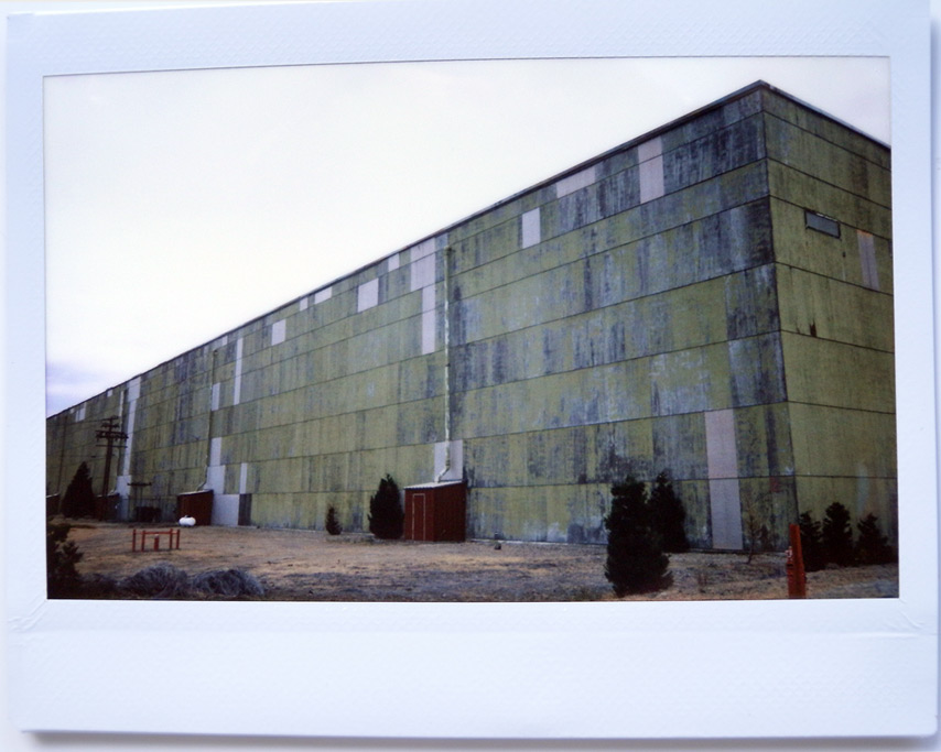 Instax shoots paper mill, Weed, CA, Andrew D. Barron©7/18/11