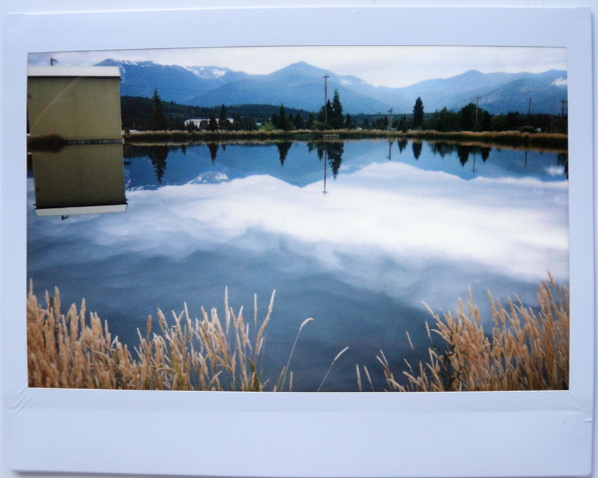 Instax shoots the mill pond, Weed, CA, Andrew D. Barron©7/18/11