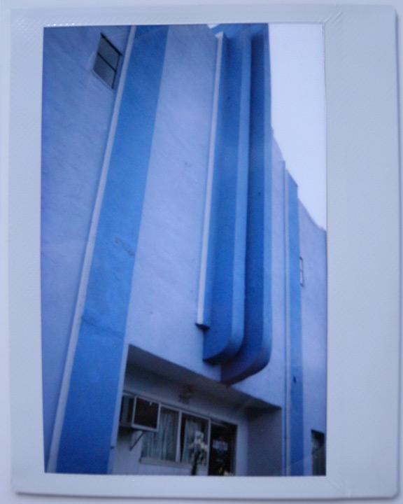 Art deco building, Weed, CA, Andrew D. Barron©7/18/11