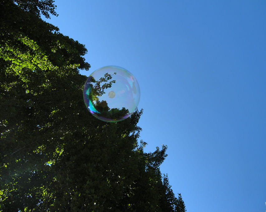 Big orange bubble, Agness, OR, Andrew D. Barron©7/25/11