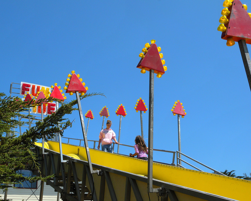 Fun Slide, Curry County Fair, Andrew D. Barron©7/28/11