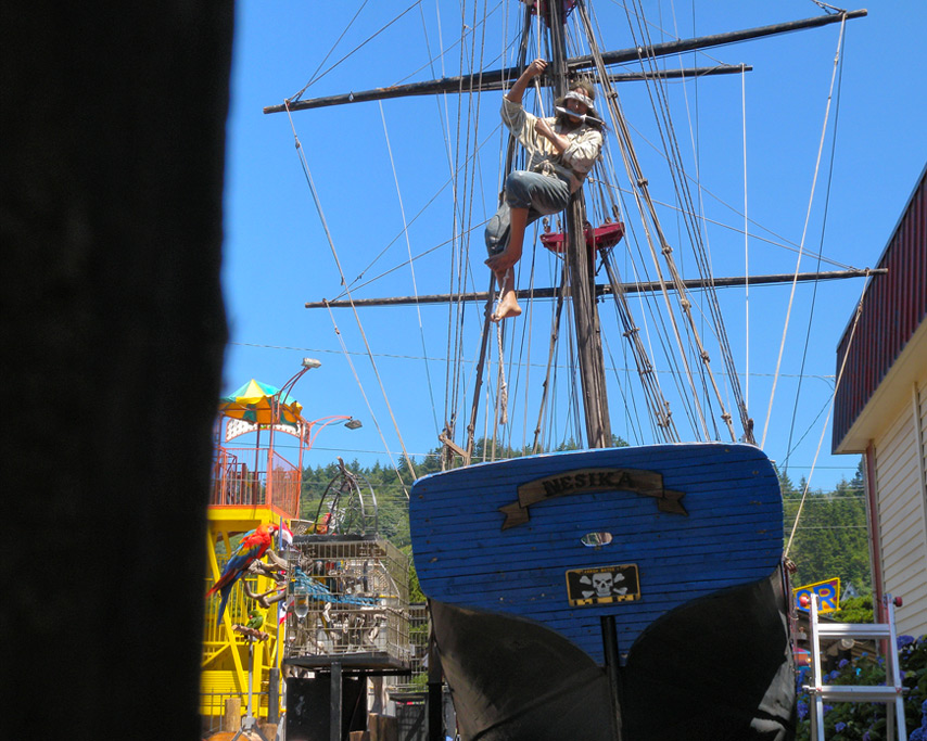 Pirate Ship, Curry County Fair, Andrew D. Barron©7/28/11