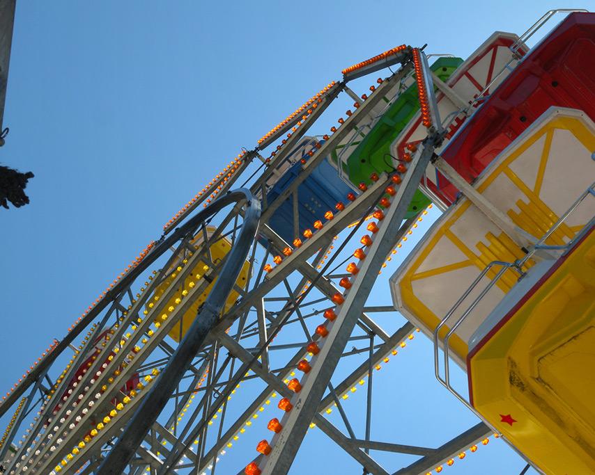 Broken Ferris Wheel, Curry County Fair, Andrew D. Barron©7/28/11