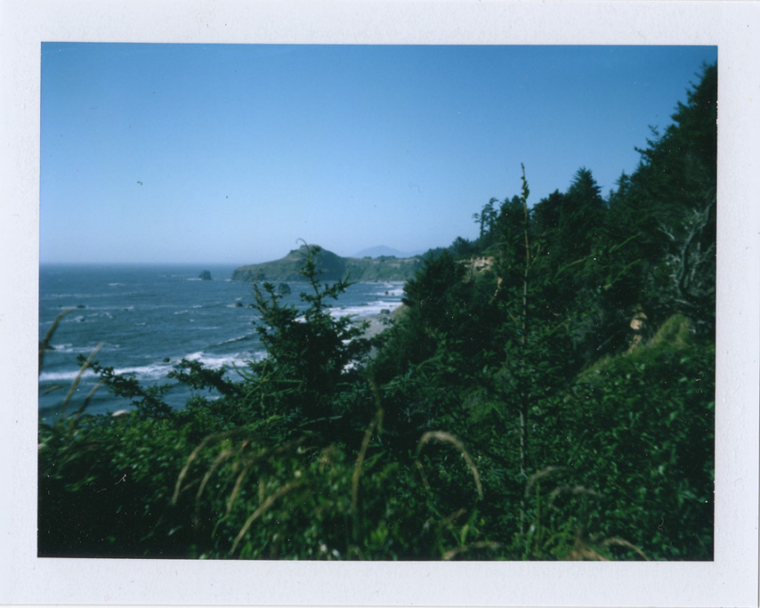 Land Camera 210 and FP100C at Otter Point, Andrew D. Barron©7/23/11