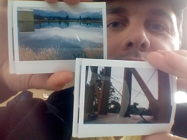 Instax 210 prints, Weed, CA, Andrew D. Barron©7/18/11