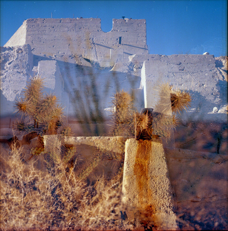 Sunrise at Dolomite Mine, Imperial County, CA, Andrew D. Barron©1/9/12 [Hasselblad 500c/m]]