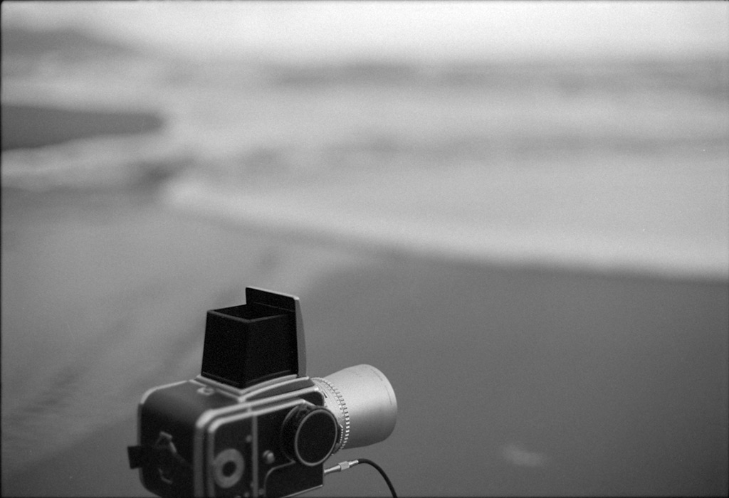 Hasselblad 500c/m at the mouth of Greggs Creek near Ophir, Andrew D. Barron©April 2012