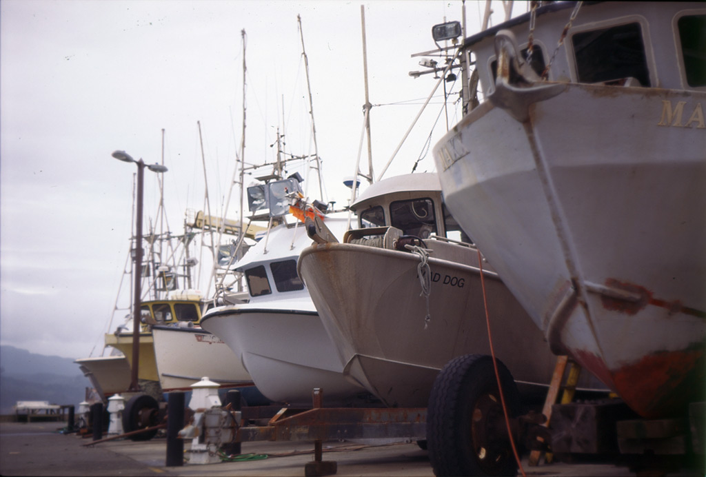 Mad Dog at Port Orford dock, Andrew D. Barron©5/22/12