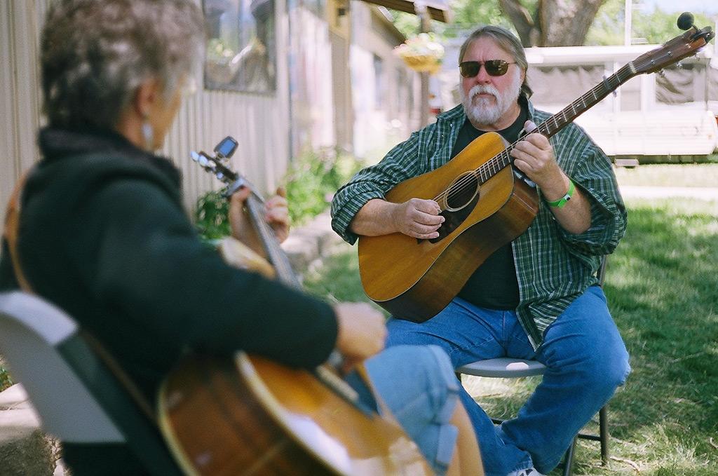 Gerlach's own Randy McKnight, Susanville Bluegrass festvial, Andrew D. Barron ©6/24/12