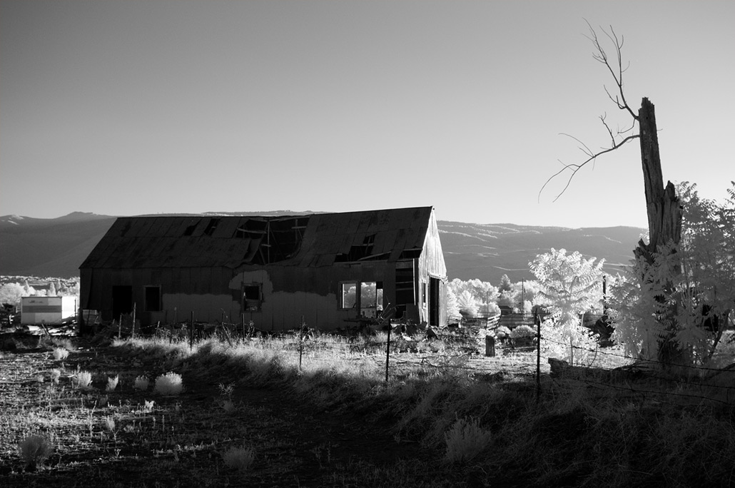 Old Barn, South Reno, Andrew D. Barron ©6/20/12