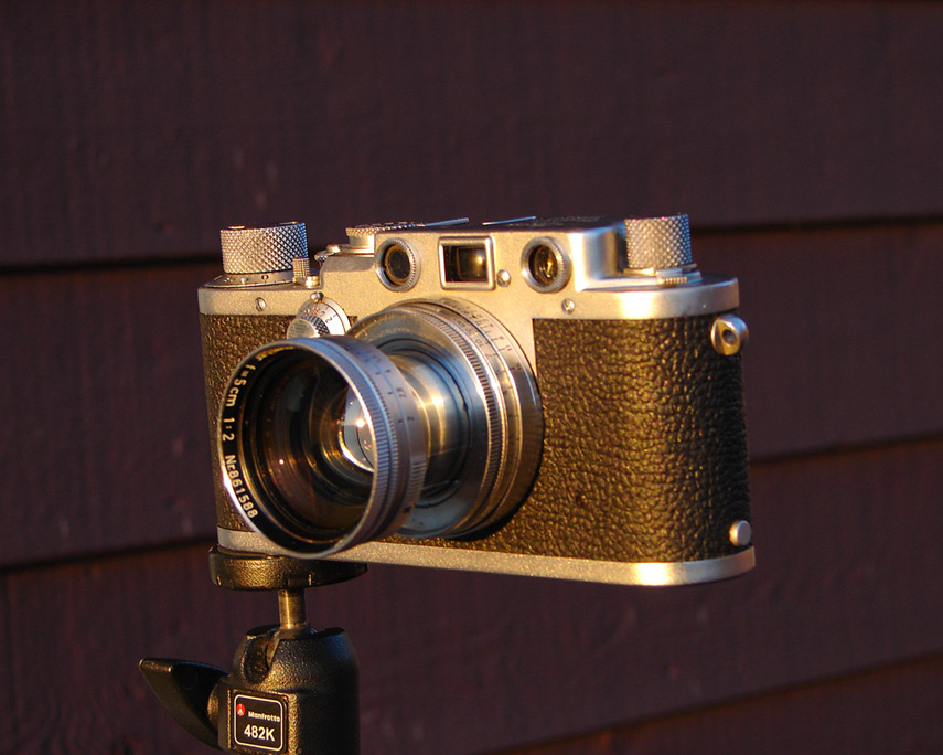 Leica IIIf and Summitar 50mm, Andrew D. Barron©7/1/12