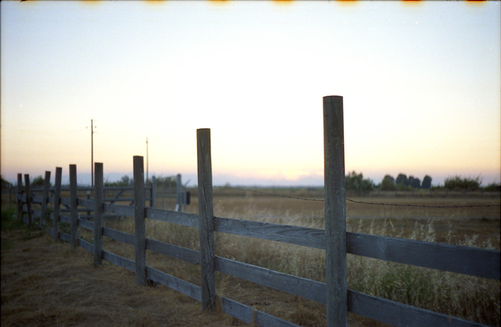 Sunset from Ramirez road, Central Valley, California, Andrew D. Barron©7/1/12