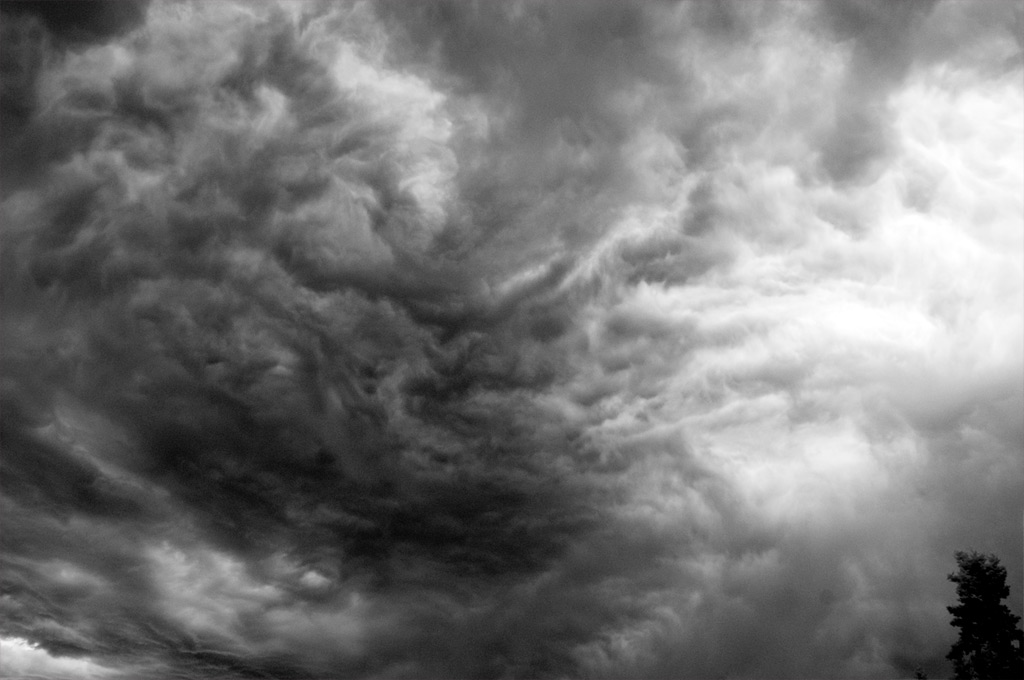 Clouds, south Reno, Andrew D. Barron©8/8/2012