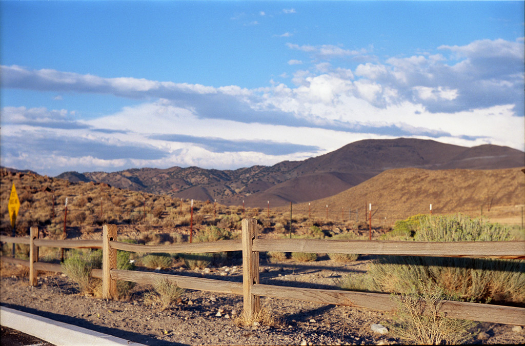 Many fences at Huffaker Hills, Reno, NV, Andrew D. Barron©8/9/2012