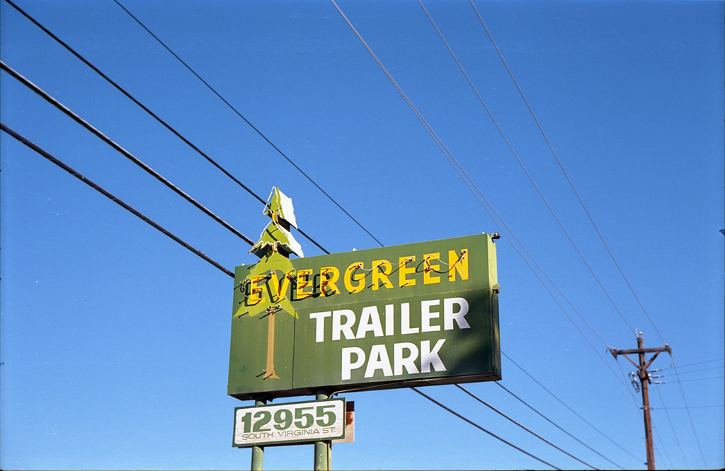 Evergreen Trailer Park, south Reno, Andrew D. Barron©8/8/2012