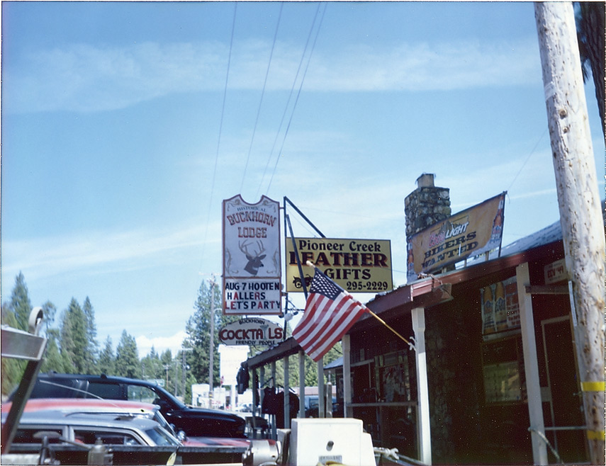 Buckhorn Lodge, Pioneer, CA, Andrew D. Barron©9/8/12 [Land Camera 320:Pack 2 shot 4]