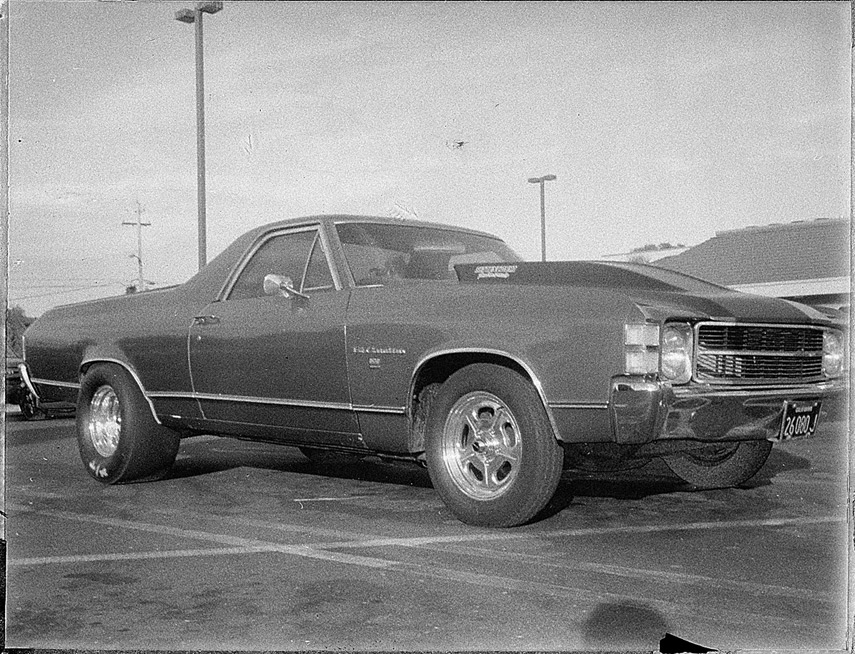 El Camino, Willits, CA, Andrew D. Barron©9/20/12 [Land Camera 320:Pack 5 shot 2 (reclaimed negative FP3000B)]