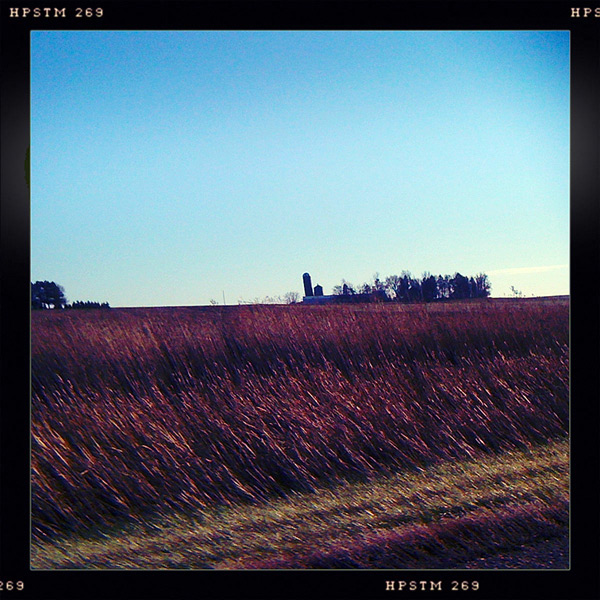 Somewhere in Iowa, Andrew D. Barron©10/31/12 [Iphone 3G, Hipstamatic 190]