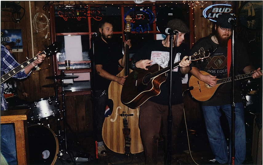 Cutthroat Shamrock, Snug Harbor, New Paltz, NY, Andrew D. Barron©10/9/12 [Instax 210: shot 6]