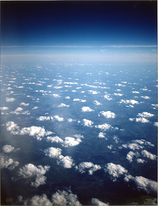 Somewhere between Dallas and NYC at 33,000 feet, Andrew D. Barron©10/6/12 [Land Camera 330:Pack 3 shot 5 (FP100C)]