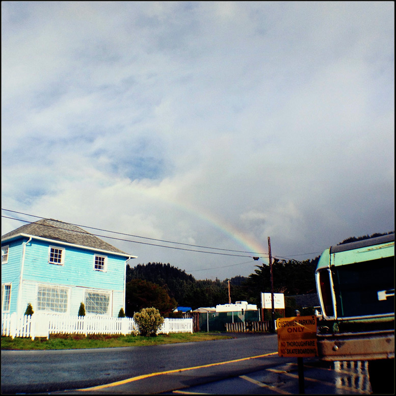 Gold Beach rainbow, Andrew D. Barron©11/28/12 [iPhone 4S, Hipstamatic 260, mCam lite]