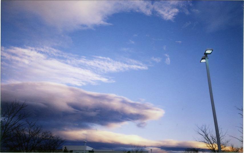 South Reno sky, Andrew D. Barron©12/11/12 [Fuji Instax 210]